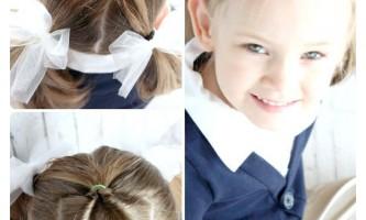 10 Зачісок для дівчаток в школу за 5 хвилин