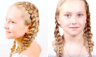 3 Красиві зачіски на 1 вересня: перший раз в 1 клас