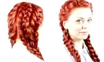 Дві косички з боків: нова ідея зачіски
