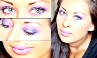 Димчастий макіяж для зелених очей