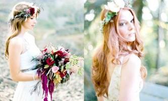 Фото новинки весільних зачісок 2015