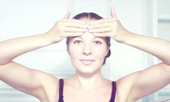 Гімнастика для обличчя від зморшок