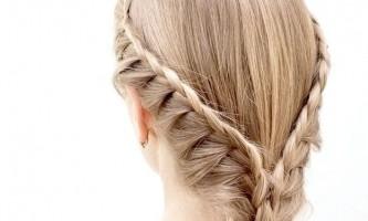 Грецьке заплітання волосся