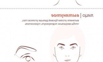 Інфографіка «моделюємо брови»