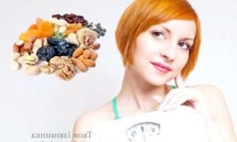 Експрес-дієта на сухофруктах, схуднення на 2 кілограми за 3 дні