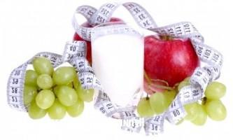 Фруктова для кефіру дієта для зниження ваги від 2 кг до 5 кг за 8 днів