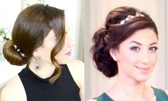 Красиві зачіски на свято