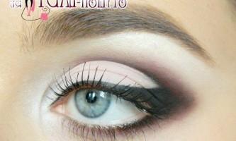 Гарний макіяж очей для будь-якого приводу під рожеве плаття