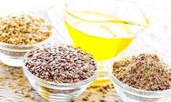 Лікування лляною олією