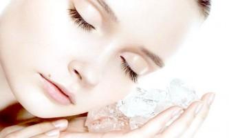 Лід для обличчя від зморшок