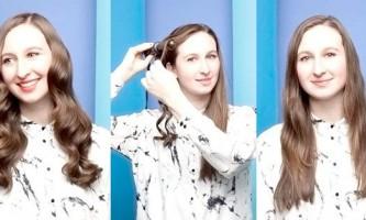 Легкі зачіски своїми руками: 6 варіантів