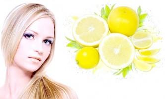 Лимон для краси і блиску волосся