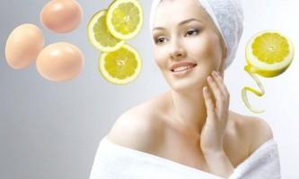 Лимонний сік з білком в складі масок: вплив на шкіру і рецепти