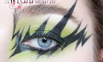 Урок макіяжу очей в сірих тонах