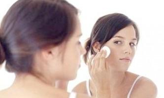 Заходи запобігання вугрової висипки на обличчі