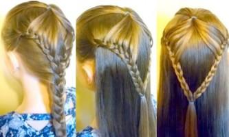 Нові ідеї дитячих зачісок з косами