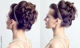Обсяг і лаконічність: грецька зачіска на весілля
