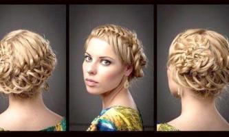 Плетіння кіс на середні волосся: красиво і просто