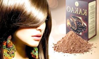 Поповніть колекцію домашніх масок для волосся рецептами з какао!