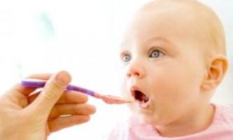 Раціон харчування дитини до року