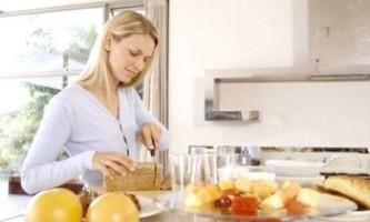 Роздільне харчування для схуднення. Меню