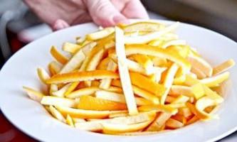 Рецепти відбілювання шкіри обличчя апельсиновою шкіркою