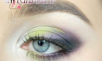 Соковитий весняний макіяж з оливково - зеленими тінями для смаглявої шкіри