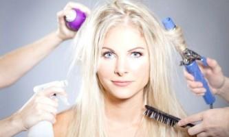 Засоби для відновлення знебарвленого і пошкоджених волосся