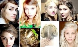 Тренди в зачісках весни 2014 на тижні моди