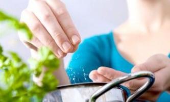 Варіанти дієти без солі