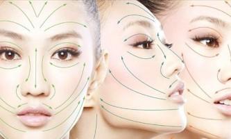 Все про масажних лініях обличчя і правила нанесення крему