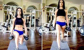Випади і присідання для опрацювання ніг і сідниць: топ-6 варіантів вправ