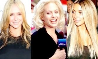 Зірки, яким не личить бути блондинкою